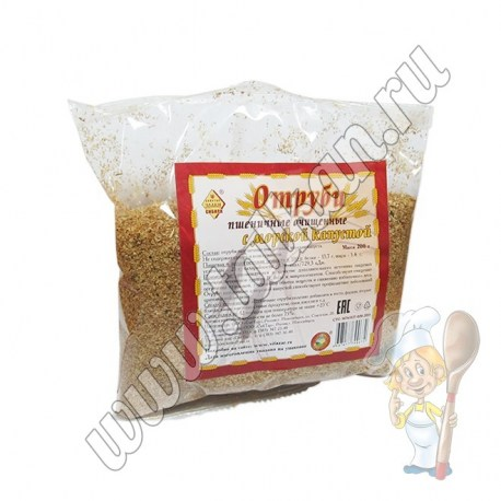 Отруби пшеничные очищенные с морской капустой