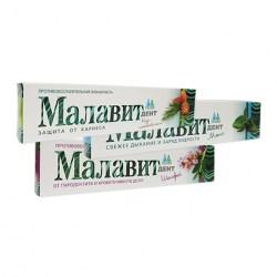 Зубная паста Малавит - Дент, сборка