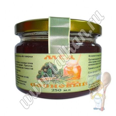 Сосновый мёд 250 гр