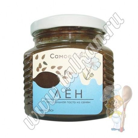 Паста - урбеч из семян льна