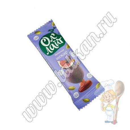 Батончик Ол`Лайт инжир