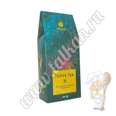Чай из листа и цветка топинамбура