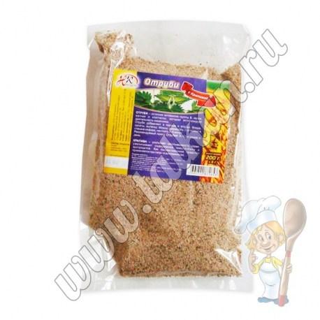 Пшеничные отруби с крапивой