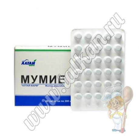 Мумиё, 60 таблеток