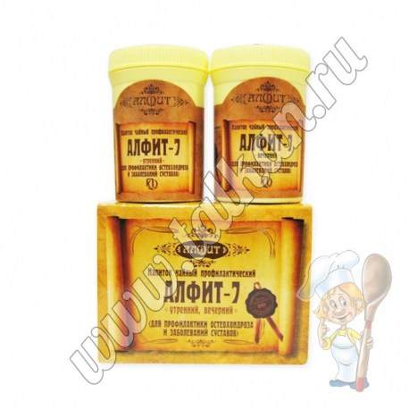 Алфит-7, профилактика остеохондроза и заболеваний суставов