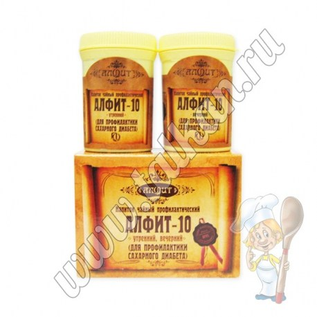 Алфит-10, профилактика сахарного диабета