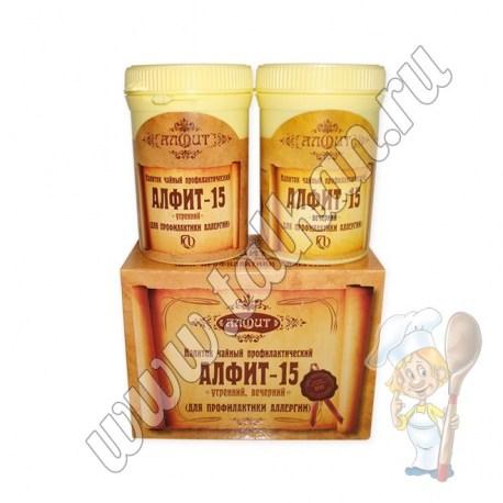 Алфит - 15,  для профилактики аллергии
