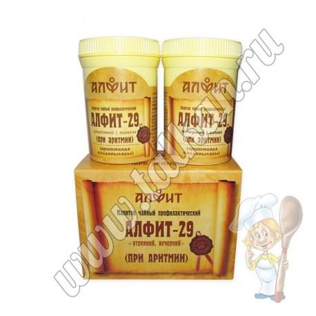 Алфит-29, при аритмии